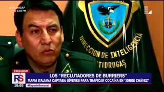 """Los """"reclutadores de burriers"""": Mafia Italiana captaba jóvenes para traficar cocaína"""