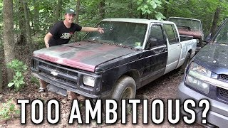 This Project Truck Was Too Good To Pass Up! S-10 Custom Crew Cab Ep.1