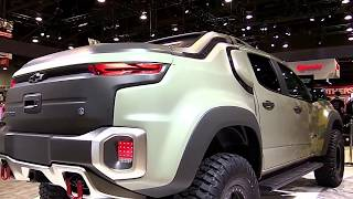 2017 Chevrolet Colorado ZH2 Concept FullSys Features |New Design Exterior Interior| First Impression