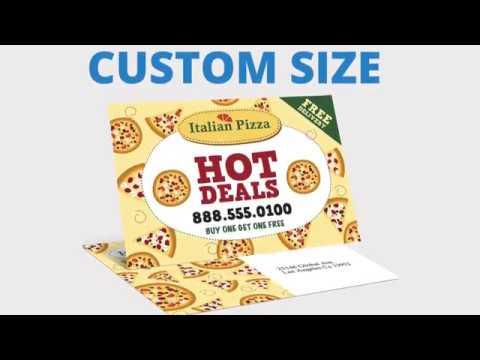 Custom Size Postcards | San Antonio TX Printing Company