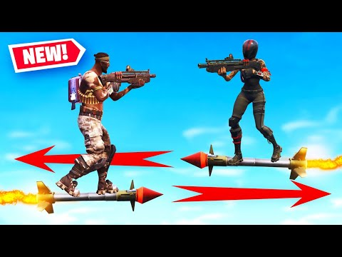 GUIDED ROCKET RIDE JOUSTING In Fortnite Battle Royale (New Minigame)
