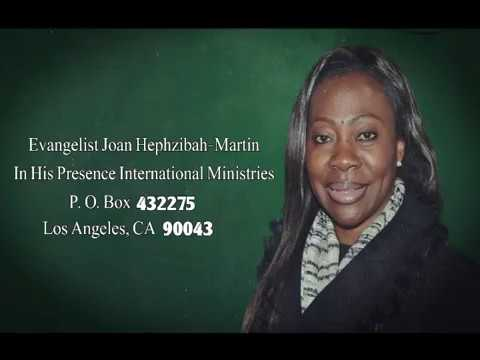 In His Presence Joan Hephzibah-Martin 08-22-2017