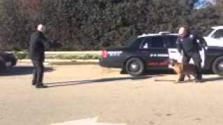 Police K-9 Goes After Fox40 Reporter