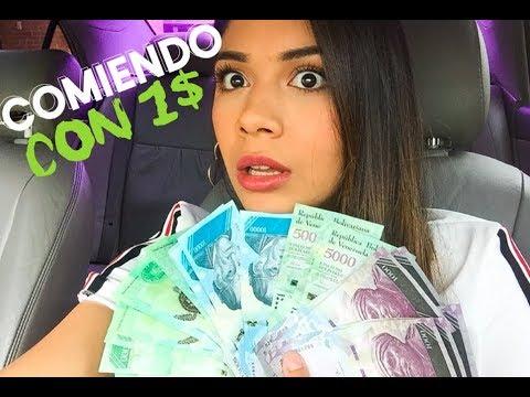 COMIENDO CON 1 $ EN VENEZUELA - 2018 ESTA PEOR?