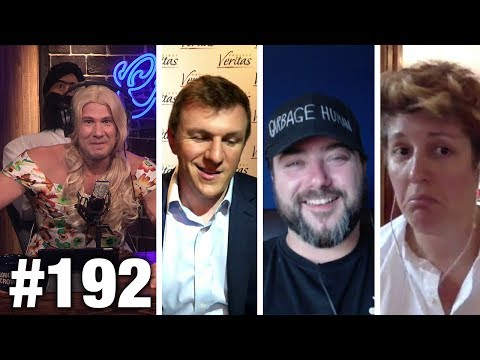 #192 CNN #FAKENEWS APOCALYPSE!! Sargon of Akkad, James O'Keefe and Sally Kohn | Louder With Crowder