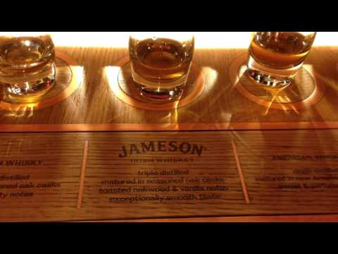 Dublin Jameson Distillery Tour Apr 2017