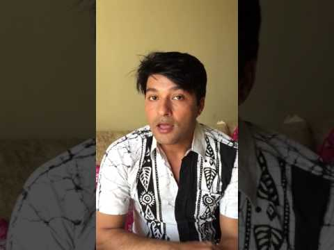 "Anas Rashid promoting ""Swapna"" (DABH Sinhala) teledrama on Sirasa TV SriLanka"