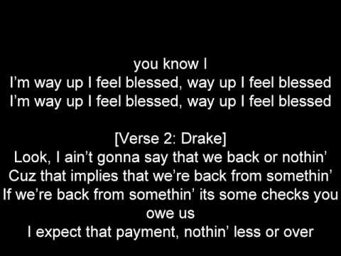 Big Sean feat Drake - Blessings ( lyrics)