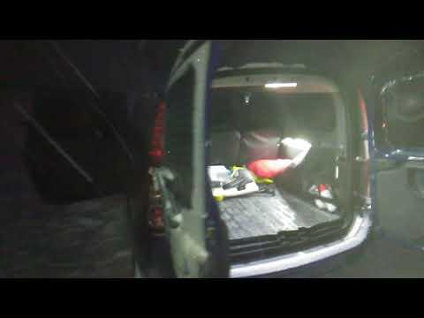 Свет в багажнике Ларгус