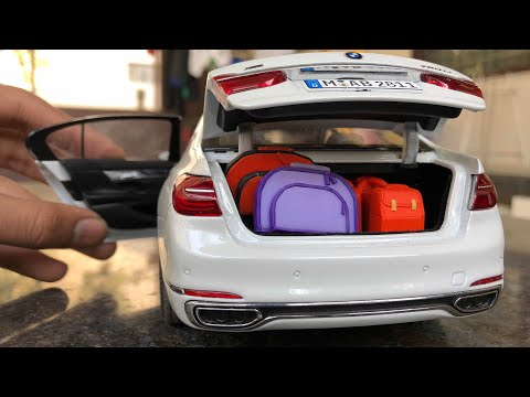 Diecast Unboxing-2016 BMW 7 Series 750i(G11/G12) 1/18 BMW Official Merchandise