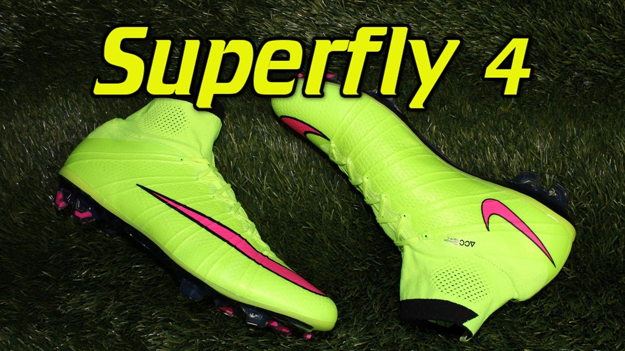 6408b241374 sale nike mercurial superfly 4 volt hyper pink highlight pack review on feet  youtube df0a3 49e54