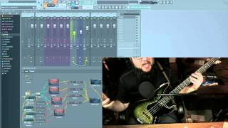 Industrial Radio Midi Bass/Synth Layer + Piezo Imprinting