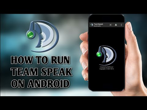 HOW To Setup Team Speak 3(ts3)  Android [2020][ENGLISH]