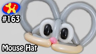 Video Mouse Hat - Balloon Animal Lessons #163 download MP3, 3GP, MP4, WEBM, AVI, FLV November 2017