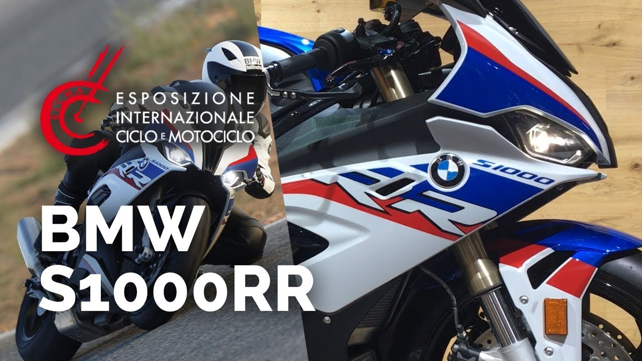 bmw s1000rr salon eicma 2018 nouveaut s 2019 youtube. Black Bedroom Furniture Sets. Home Design Ideas