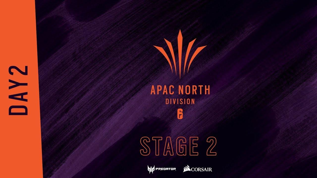 APAC North Divisionステージ2 PlayDay2 (コメンテーター : ふり~だ、ともぞう、Okayama)