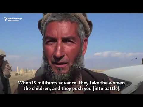 Afghan Civilians Flee As Taliban Clash With IS Militants