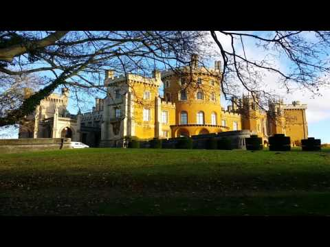 Belvoir Castle - FULL OUTSIDE VIDEO TOUR (Grantham, Leics, England)