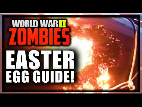 cod ww2 zombies easter egg guide