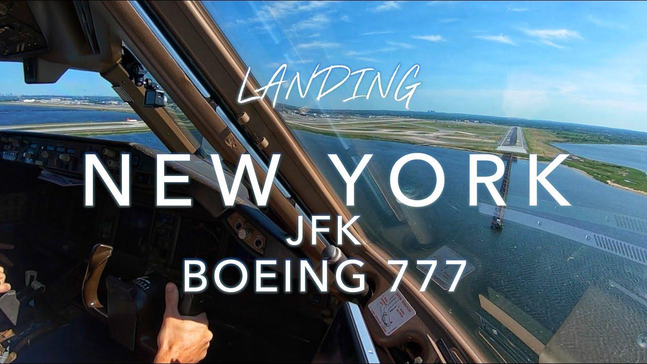NEW YORK JFK | BOEING 777 LANDING
