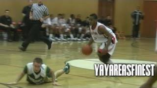 dominic artis has stupid handles best 2012 pg on the west coast