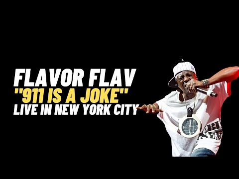 "Flavor Flav (Public Enemy) ""911 Is A Joke"" Live at Highline Ballroom NYC"