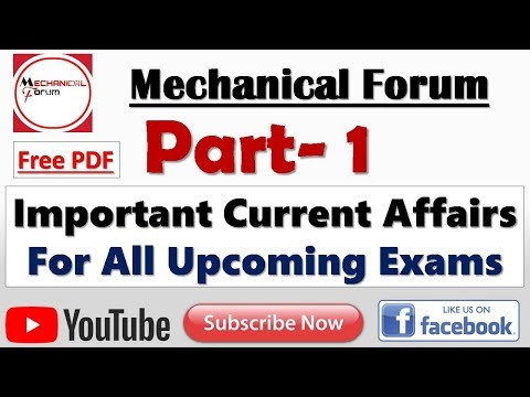 Important Current Affairs 2018 for All Upcoming Exams | Expected Questions and Answers Quiz