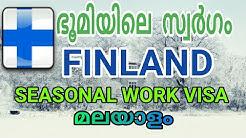 #finland|Finland world's happiest country seasonal work visa malayalam