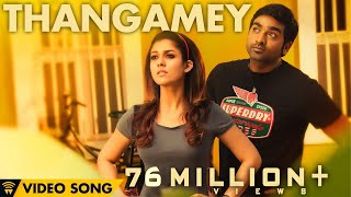 Gambar cover Naanum Rowdy Dhaan - Thangamey | Official Video | Anirudh | Vijay Sethupathi | Vignesh Shivan
