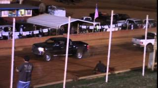 Winder Barrow Speedway Dirt Track Truck Pull Contest 4/5/14