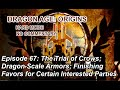 Dragon Age: Origins - Hard - 67: Crow Assassinations; Dragon Armor; Denerim Quests