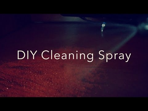 DIY Cleaning Spray/Vinegar,water,and olive oil