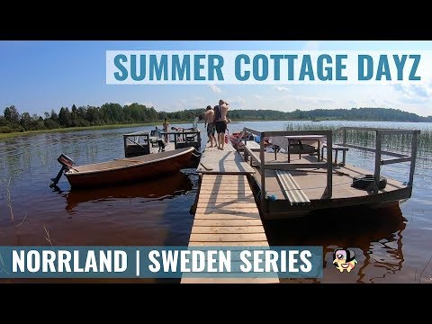 Authentic Sweden - Traditional Summer Cottage In The North
