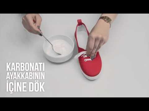 ayakkabı kokusu nasıl gider