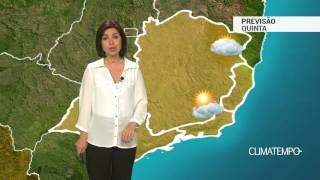 Previsão Sudeste – Ar fica mais seco no ES