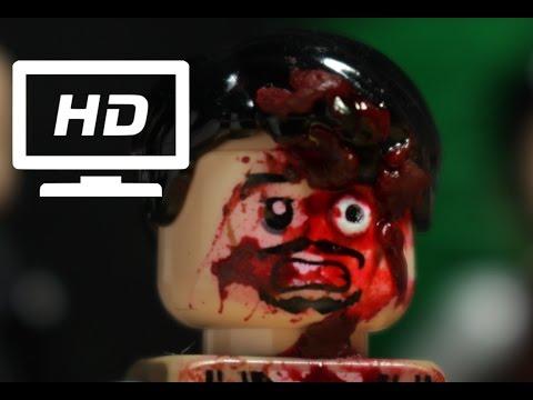 Lego The Walking Dead Death of Glenn and Abraham