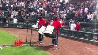 US National Anthem on Steel Pan (Steel Drums)