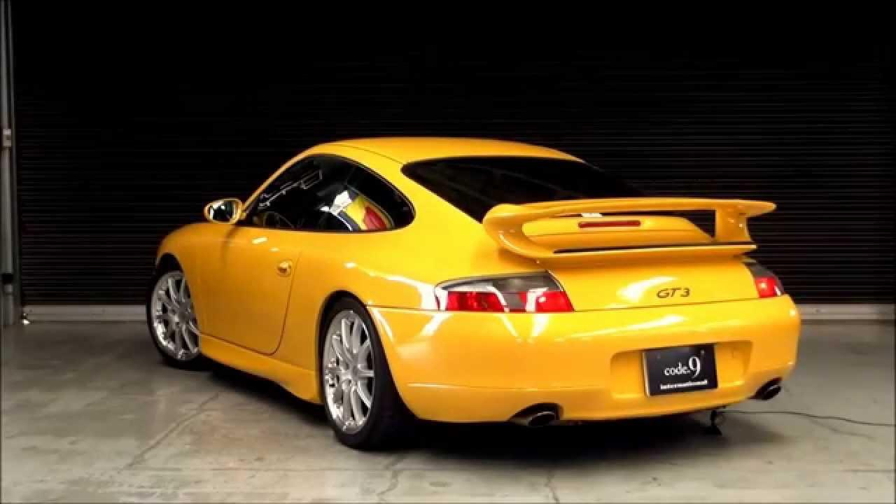 code 9 2001y porsche 911 gt3 street speed yellow type 996 youtube. Black Bedroom Furniture Sets. Home Design Ideas