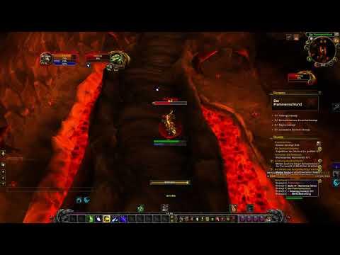 Ragefire Chasm 1st Boss Solo (Lvl 14 Balance druid) 7.3.5