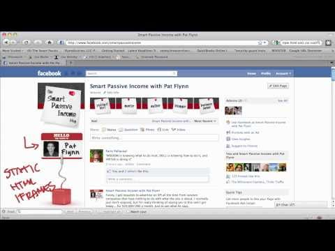 How to Create a Facebook Landing Page (HTML / iFrame Edition)