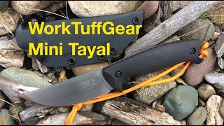 WorkTuffGear Mini Tayal Skinning knife.