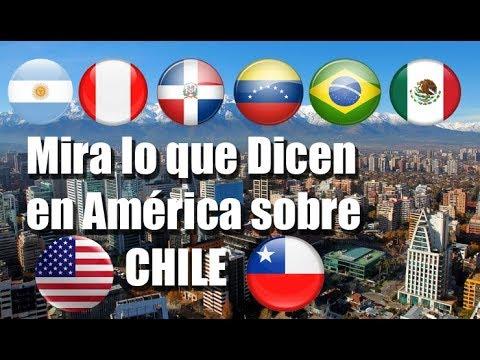 Mira lo que Piensan en América sobre Chile 2018