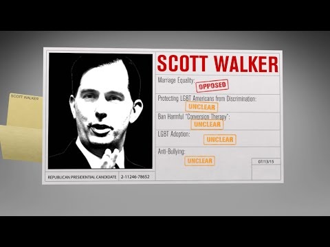 2016 Republican Facts: Scott Walker