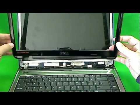 Процедура замены экрана ноутбука Dell Inspiron N4010