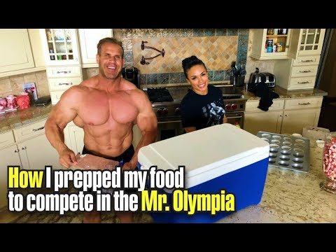 HOW I PREPPED MY FOOD TO COMPETE IN THE MR  OLYMPIA TRAVEL TECHNIQUES