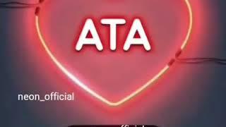 AtaYa Aid Video  Əla♡  _ İnstagram Neon_Official.