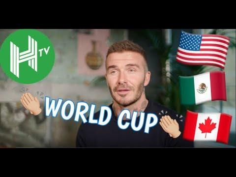David Beckham backs USA, Canada & Mexico 2026 World Cup Bid