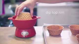 Velata Recipe Of The Month—august 2013 Fruit Salad Waffle Bowls! ♥