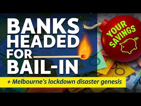 16 October 2020 - Citizens Report - Banks headed for bail-in / Melbourne's lockdown disaster genesis