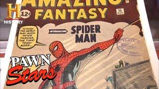 Pawn Stars: RARE HOLY GRAIL Spider-Man Comic Book (Season 8) | History